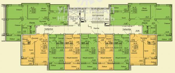 Жк семейный планировки квартир
